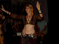 Saraswati Modern Tribal performs at the Kava Lounge in San Diego on August 22nd, 2008.